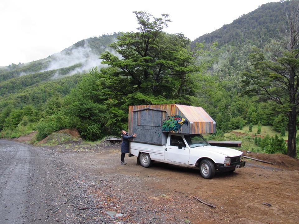 Patricia-marcelo-camioneta-nomada